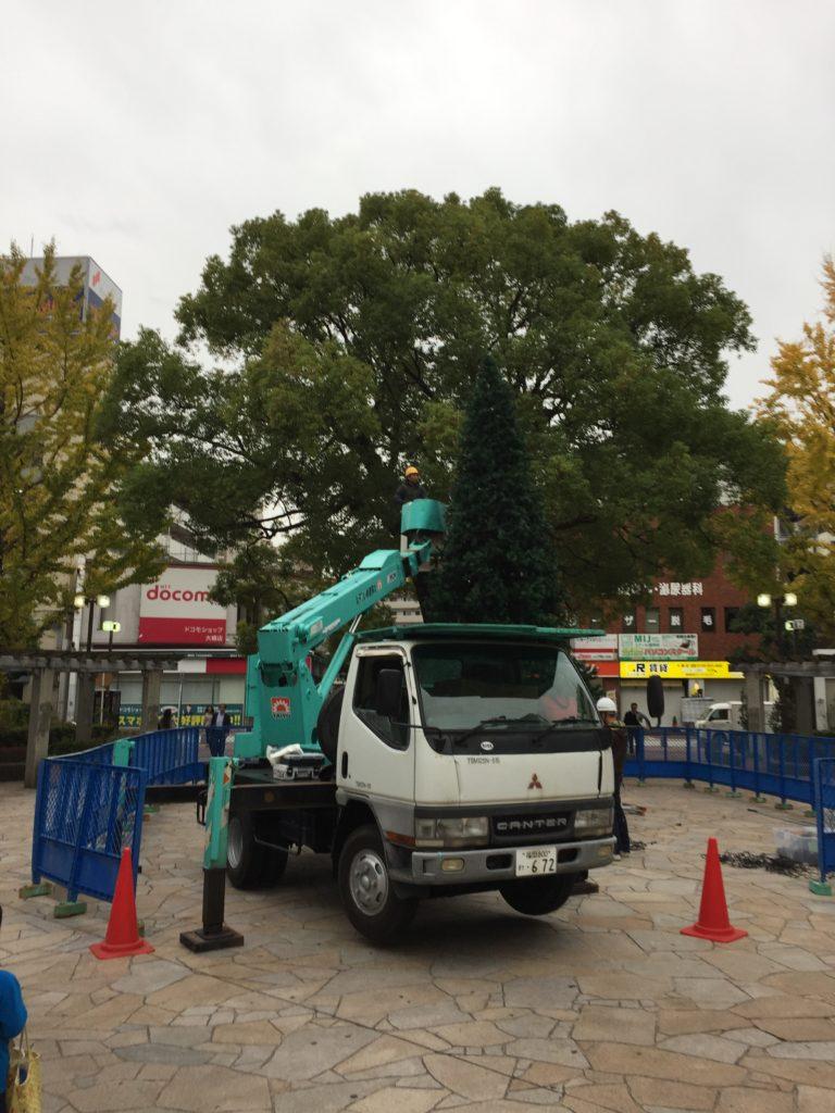 駅のツリー2