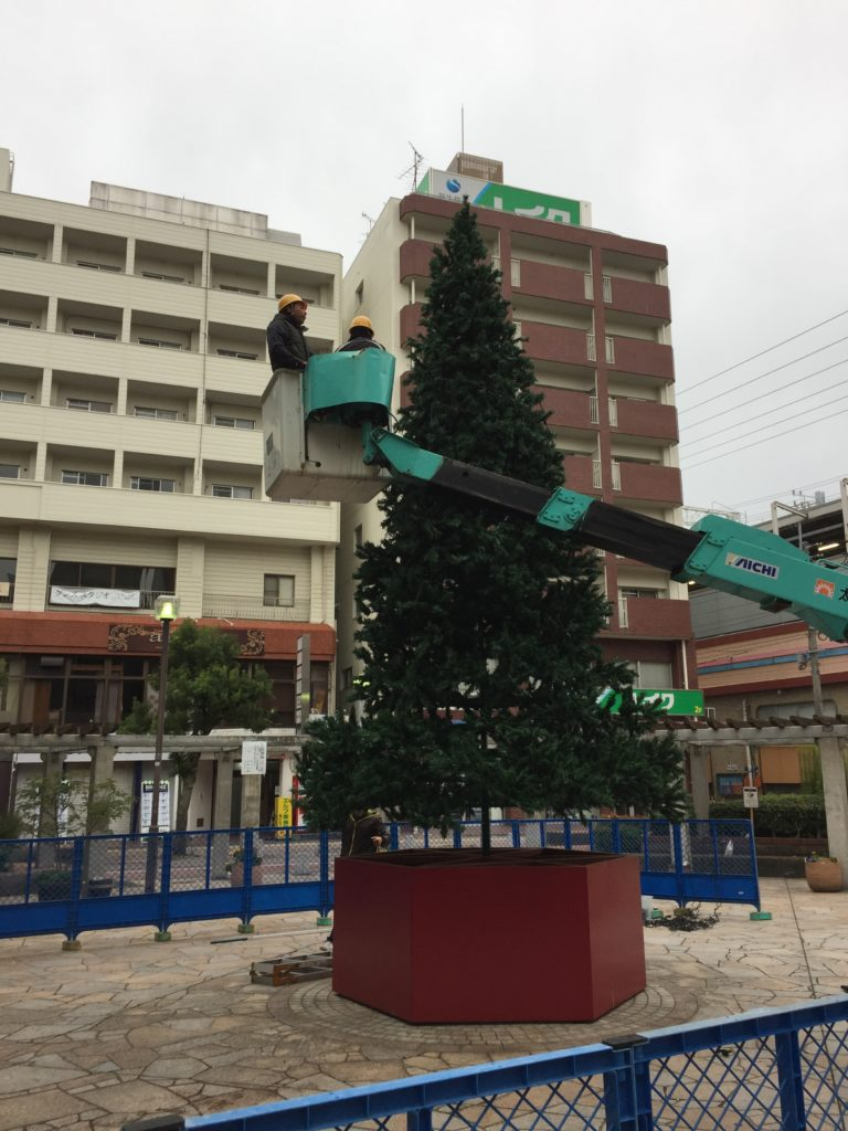 駅のツリー1