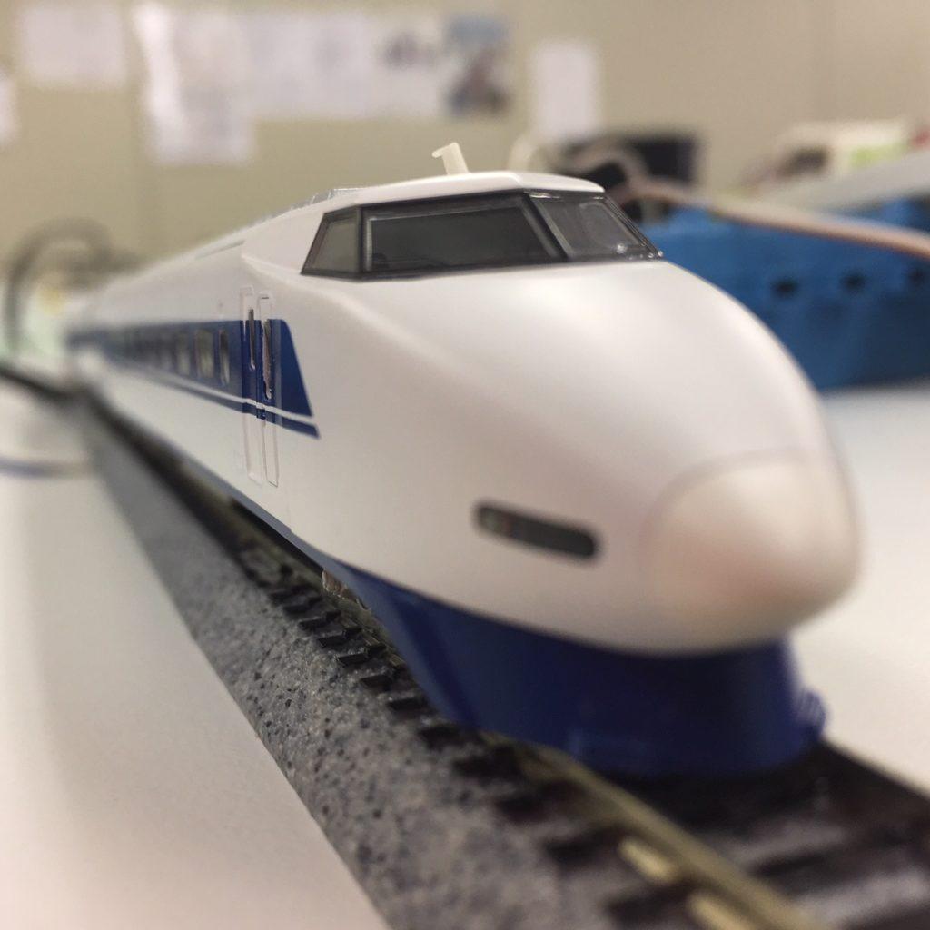 100系新幹線の模型1