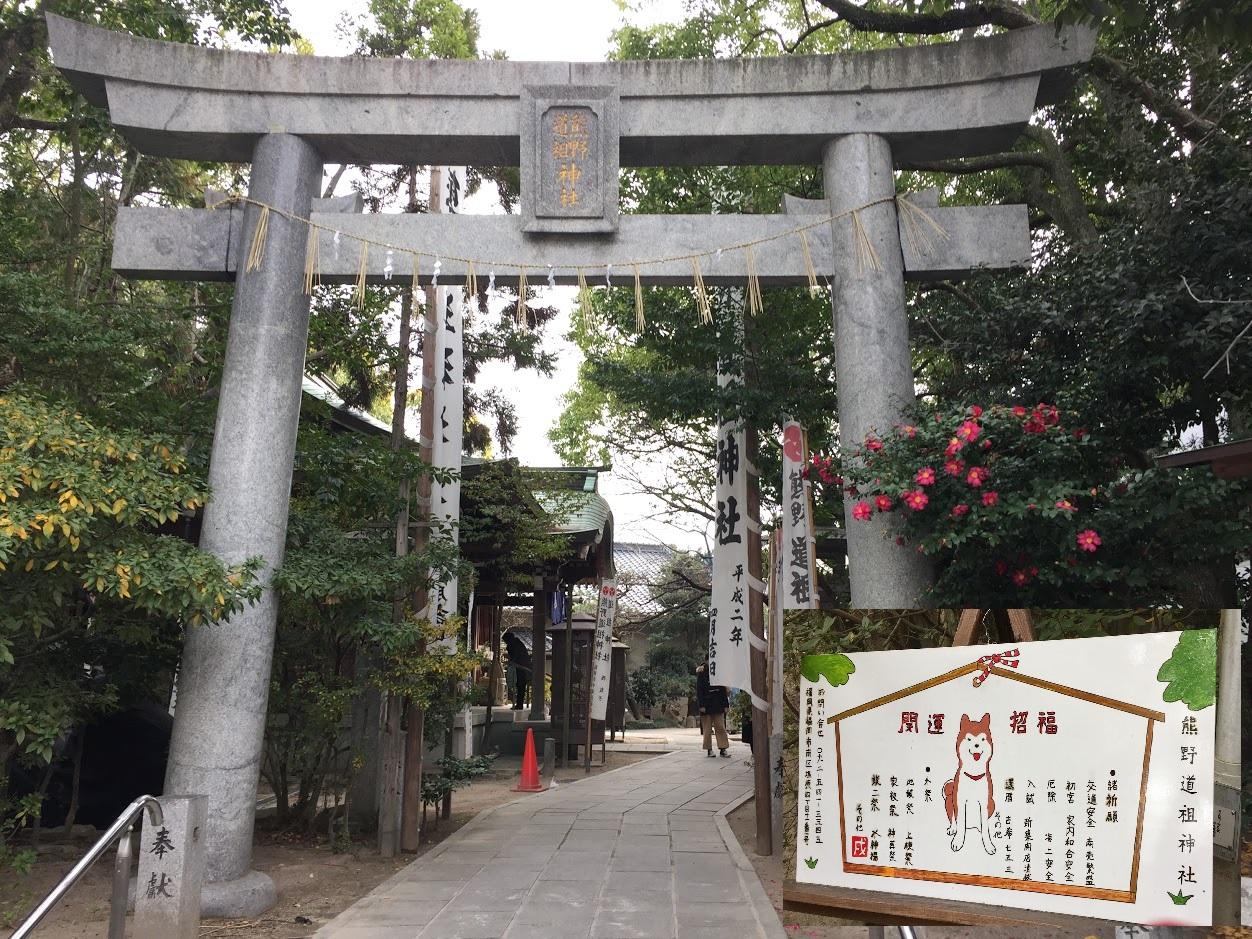 初詣(熊野神社)