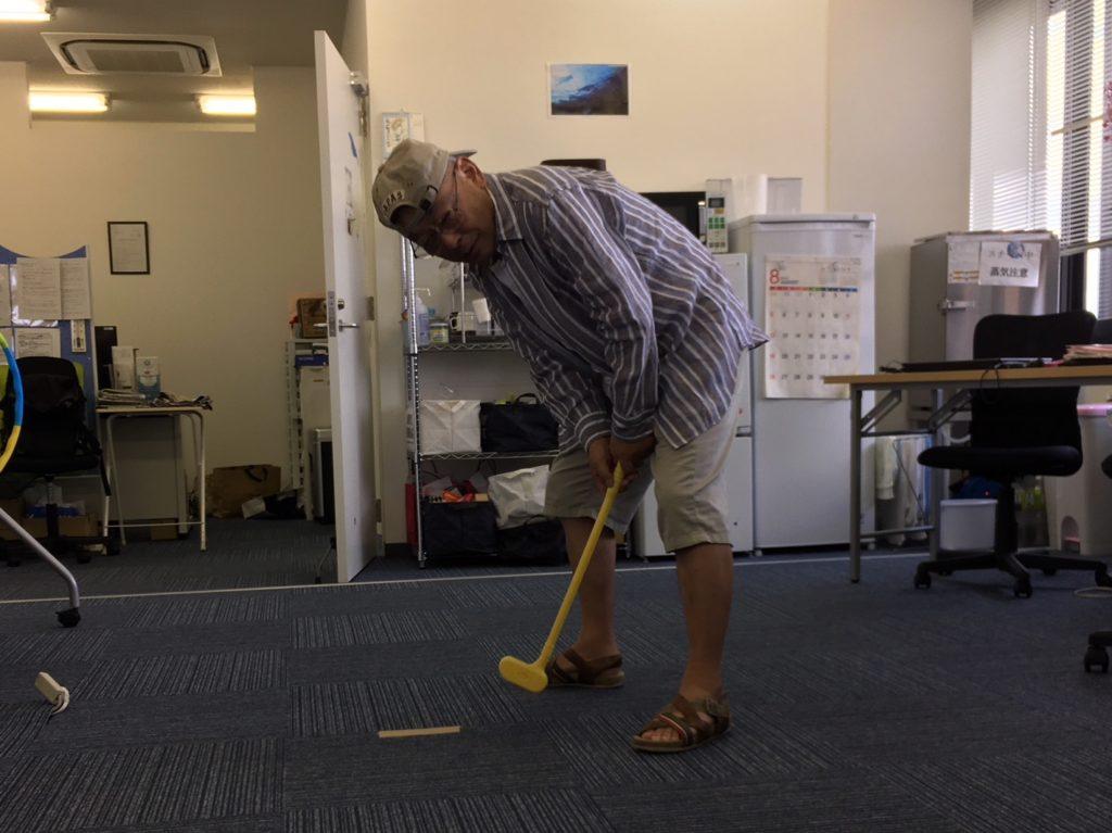 代表ゴルフ